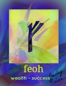 feoh rune symbol of  success