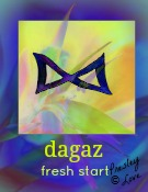 dagaz rune symbol of a new day