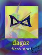dagaz rune symbol of a new day