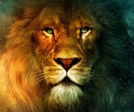 Aslan lion from Chronicles of Narnia