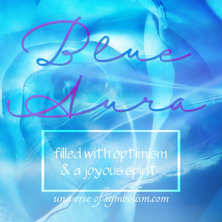 Blue aura definition and color meaning, what a blue aura symbolizes, symbols for a blue aura includes truth that is spoken and unspoken, communication, and a talent for reading the tarot. . .