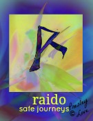 raido rune symbol of safe travels