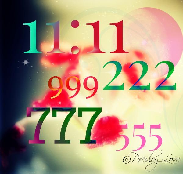 repeating numbers - art by Presley Love