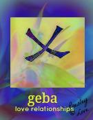 geba rune symbol of love relationships