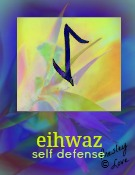eihwaz symbol of self defense