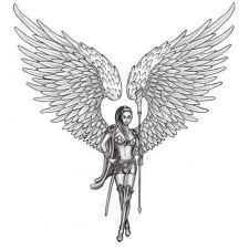 Angel Tattoo Idea