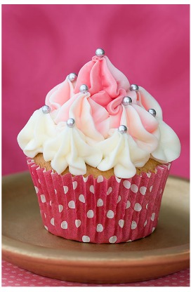 magical pink cupcake