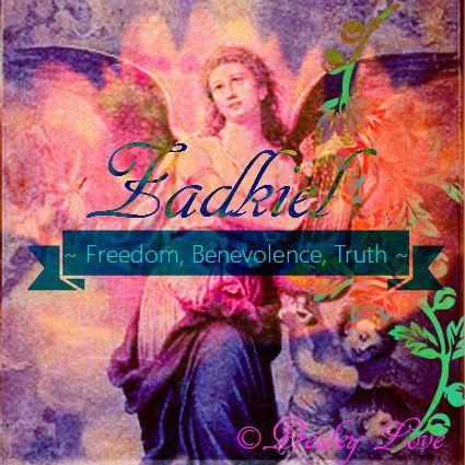 Angel Zadkiel - Angel of Freedom