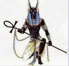 Tattoo Idea; Anubis with Ankh