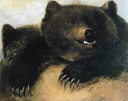 Vintage Bear tattoo idea