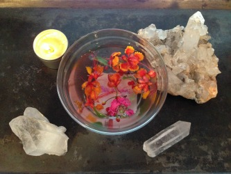 crystal healing grid for love