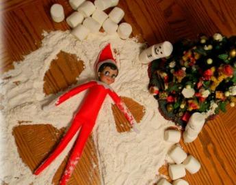elf on the shelf angel wings