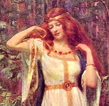 Norse Goddess Freya