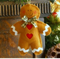 gingerbread man - christmas symbol