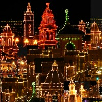 christmas lights as symbols of christmas
