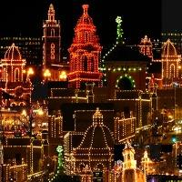christmas lights as symbols of christmas