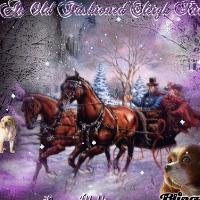 sleighride - symbols of Christmas