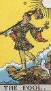 tarot card Fool