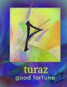 turaz rune symbol of good fortune