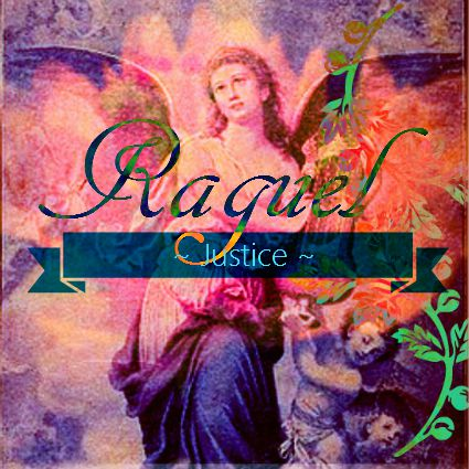 Angel of Justice - Raguel