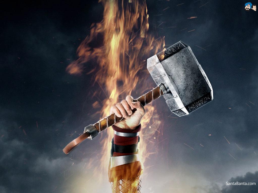 Thors hammer Mjolnir