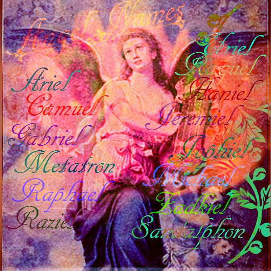 Angel Names - Universe of Symbolism