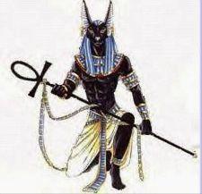Tattoo Idea; Anubis with Ankh
