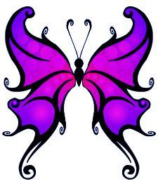 butterfly fantasy tattoo idea