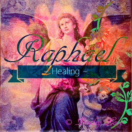 angel Raphael - the healing Angel