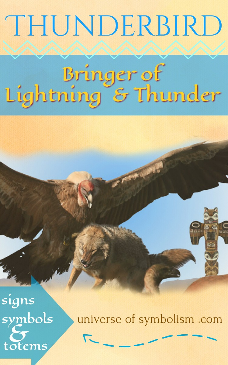 Thunderbird, Native American symbol of a bringer of the storm