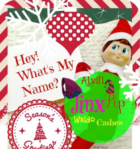 elf on shelf - whats my name already