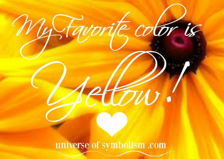 Yellow Symbolism with Spiritual Meaning of the Color Yellow --- Angels are in your midst